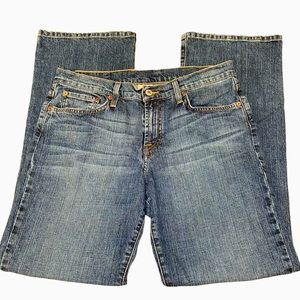 LUCKY BRAND CLASSIC FIT DUNGAREES JEANS